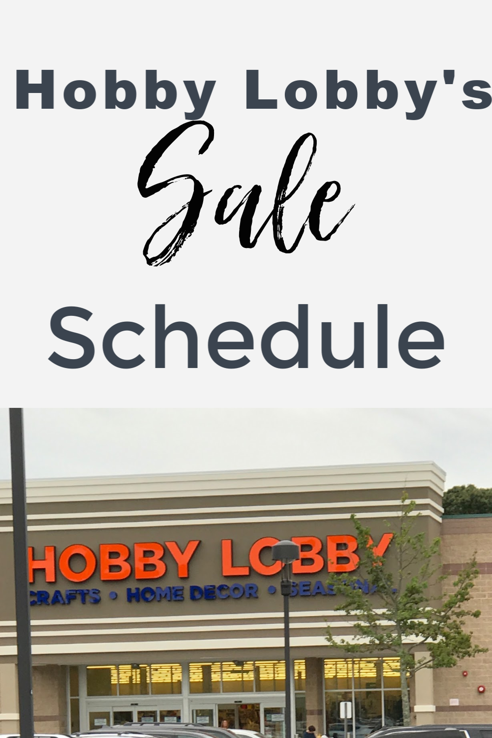 Hey guys, I'm back with another great shopping tip! Don't go to Hobby Lobby without reading this!