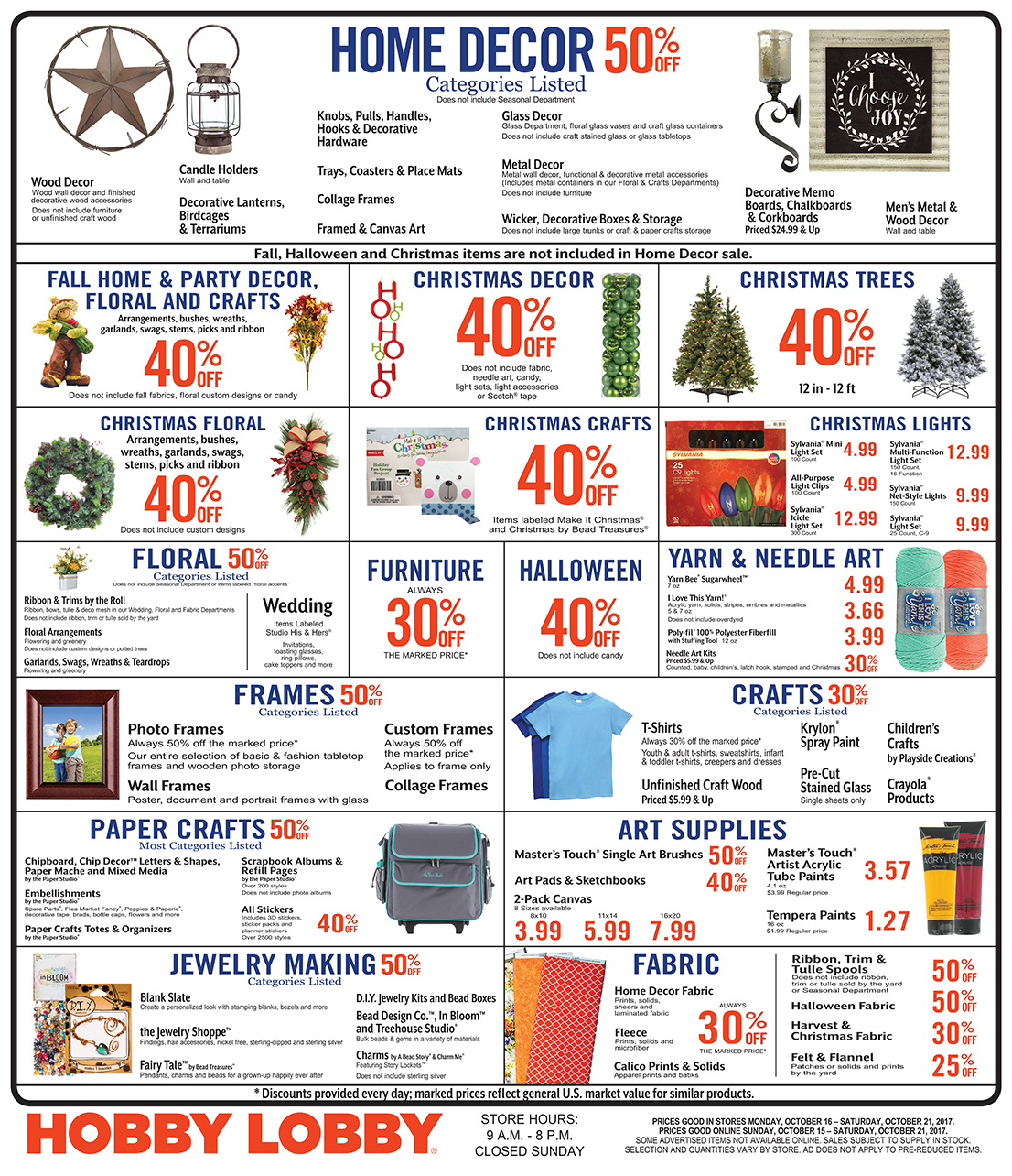 Does hobby lobby take competitor coupons