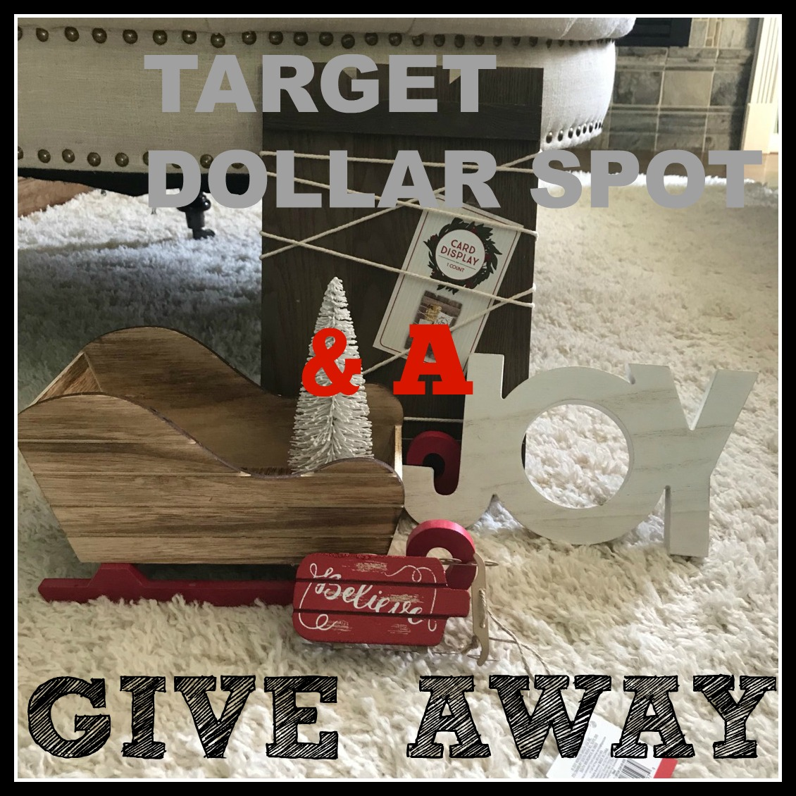 Target Dollar Spot Christmas Haul Amp A Giveaway Frugally