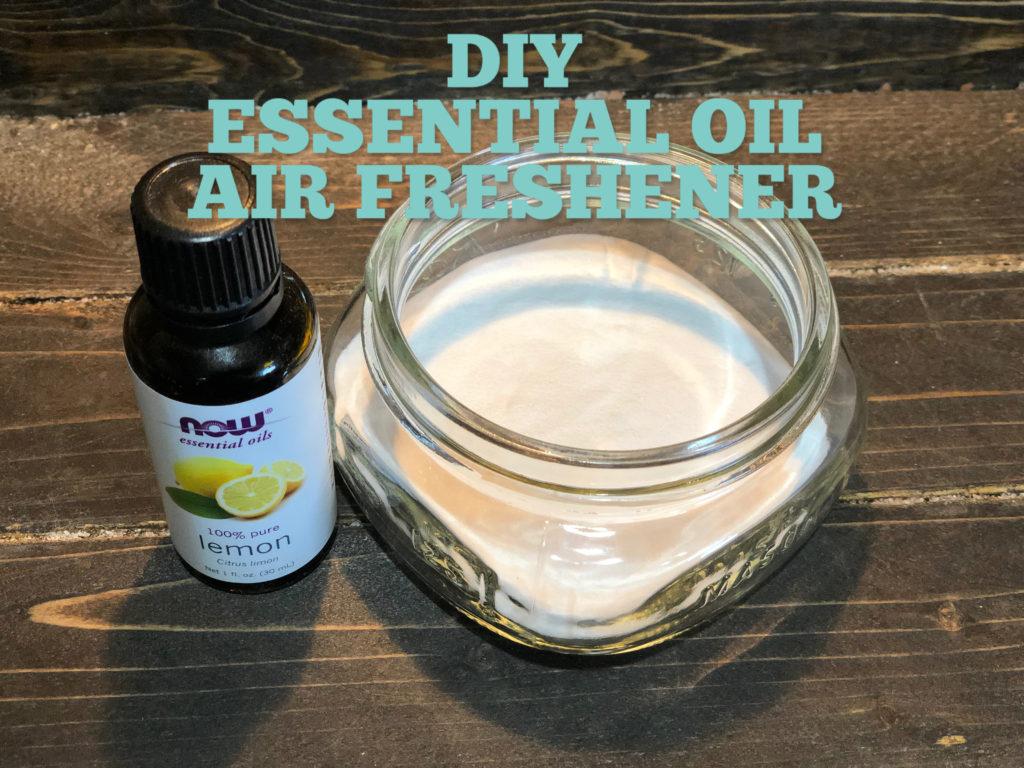 DIY Essential Oil Air Freshener FrugallyFantastic.com