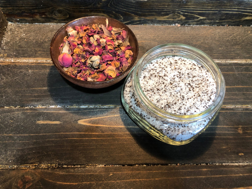 DIY Rose Petals Tea Soak FrugallyFantastic.com