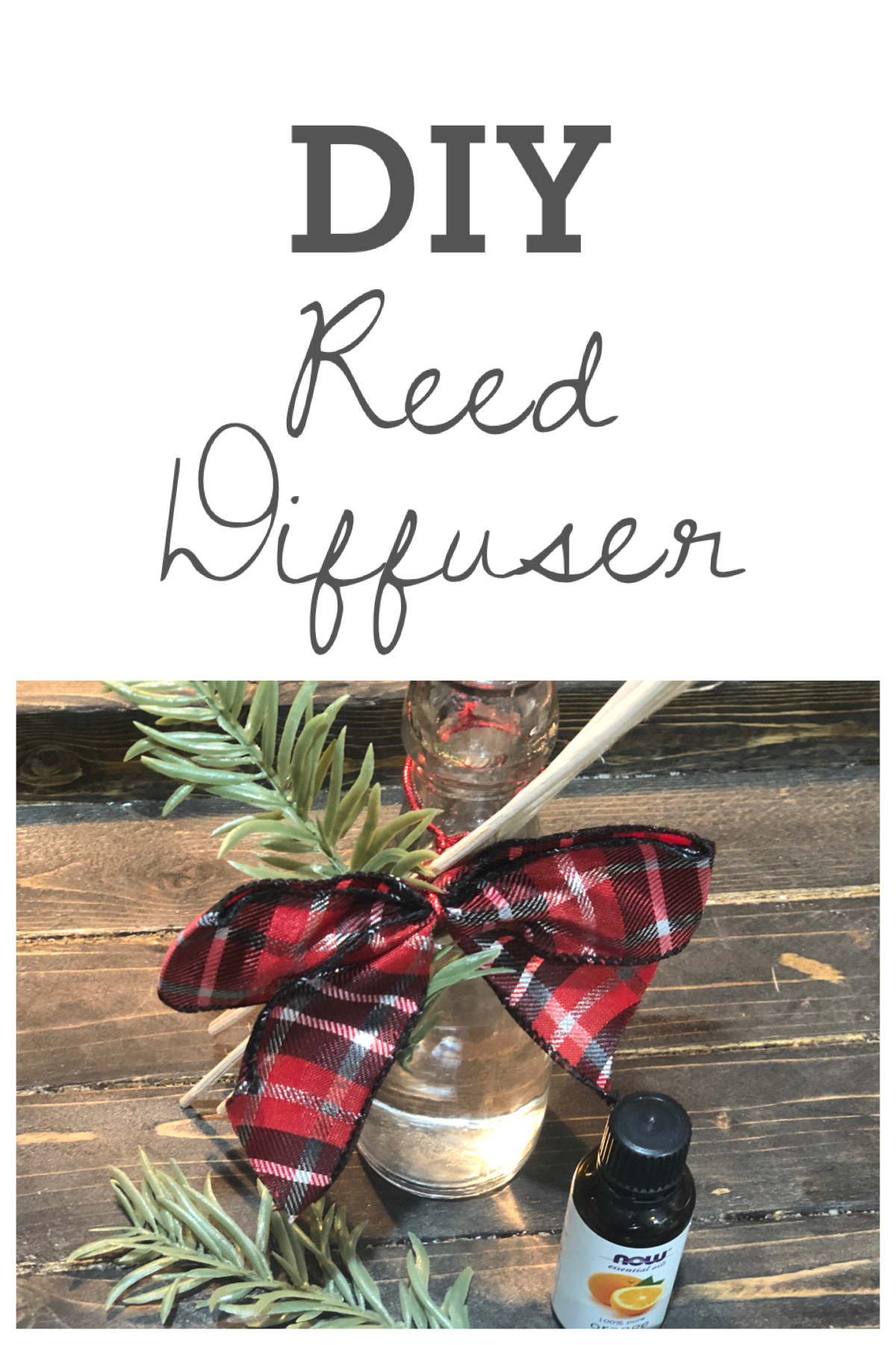 DIY Reed Diffuser, Hey guys I'm back with another cheap and easy Christmas gift idea and that can be made in a fews minutes with a few dollars! Frugallyfantastic.com