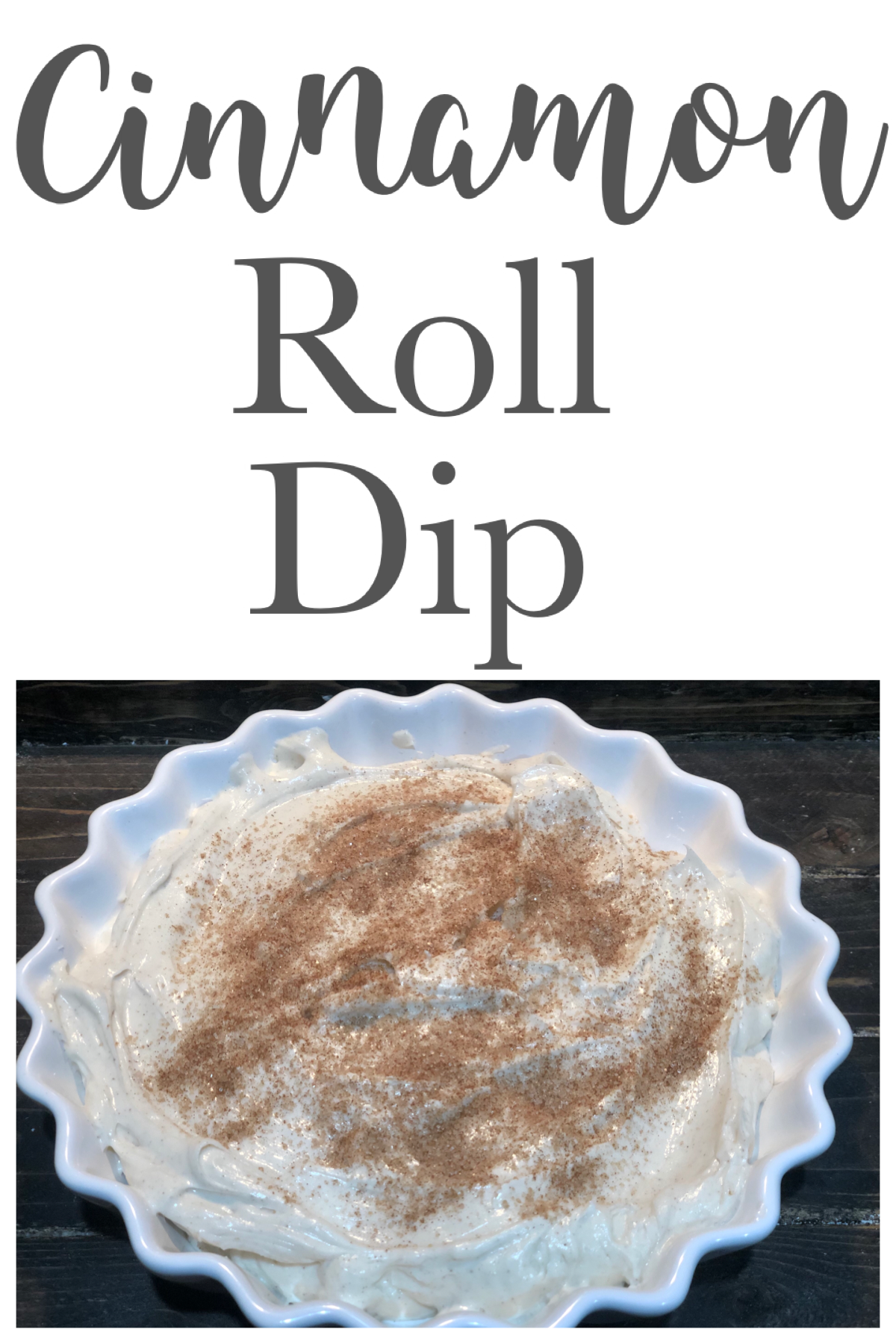 Hey guys, I'm back with another great no bake dessert recipe, this Cinnamon Roll Dip takes 5 minutes to make and will be a huge hit with everyone! FrugallyFantastic.com