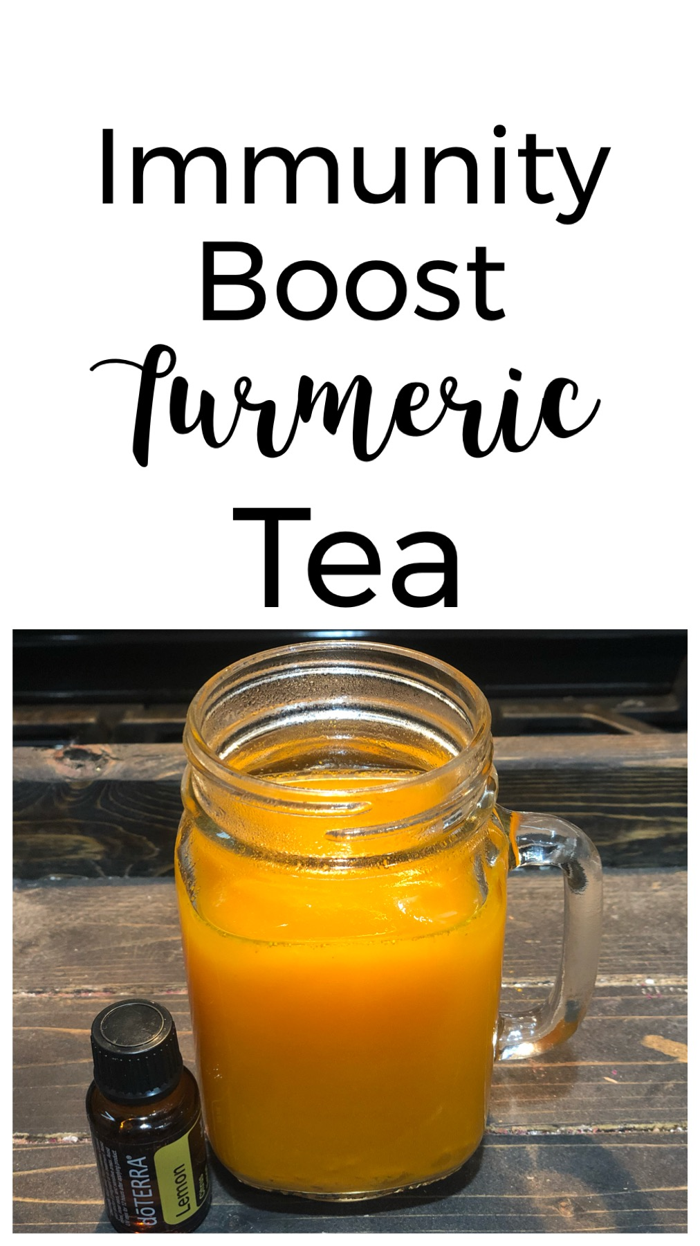 Immunity Boost Turmeric Tea - Hey guys, I'm back with another great drink recipe! This Immunity Boost Turmeric Tea is a great way to boost your immune system!
