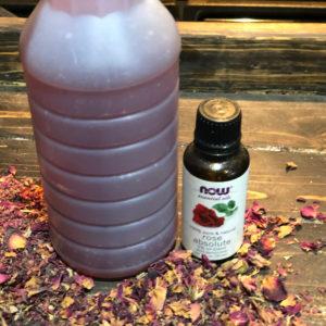 DIY Rose Water Linen Spray FrugallyFantastic.com