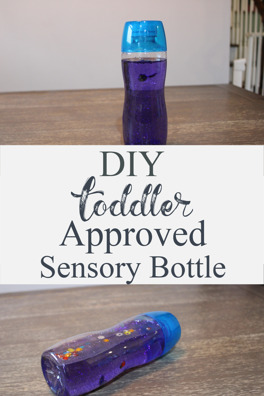 Hey guys, I'm back with another great DIY for the kids! This DIY Toddler Approved Sensory Bottle will keep the little ones busy for hours!