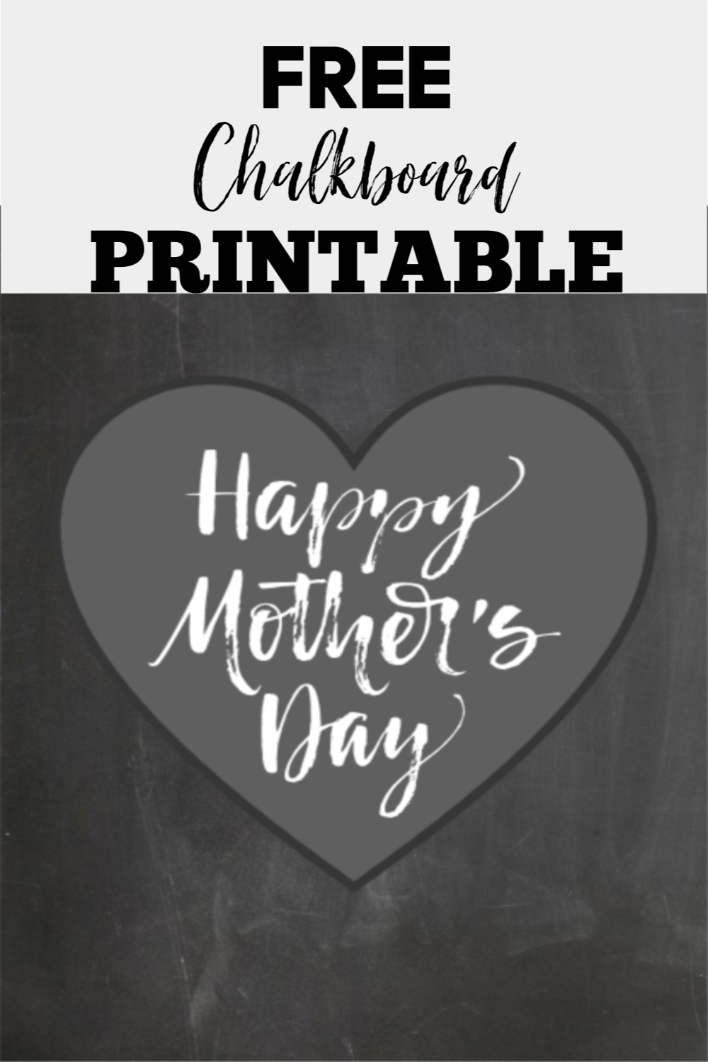Hey guys, I'm back with another free printable! This Happy Mother's Day Free Printable is perfect for mom with one of my DIY Frames!