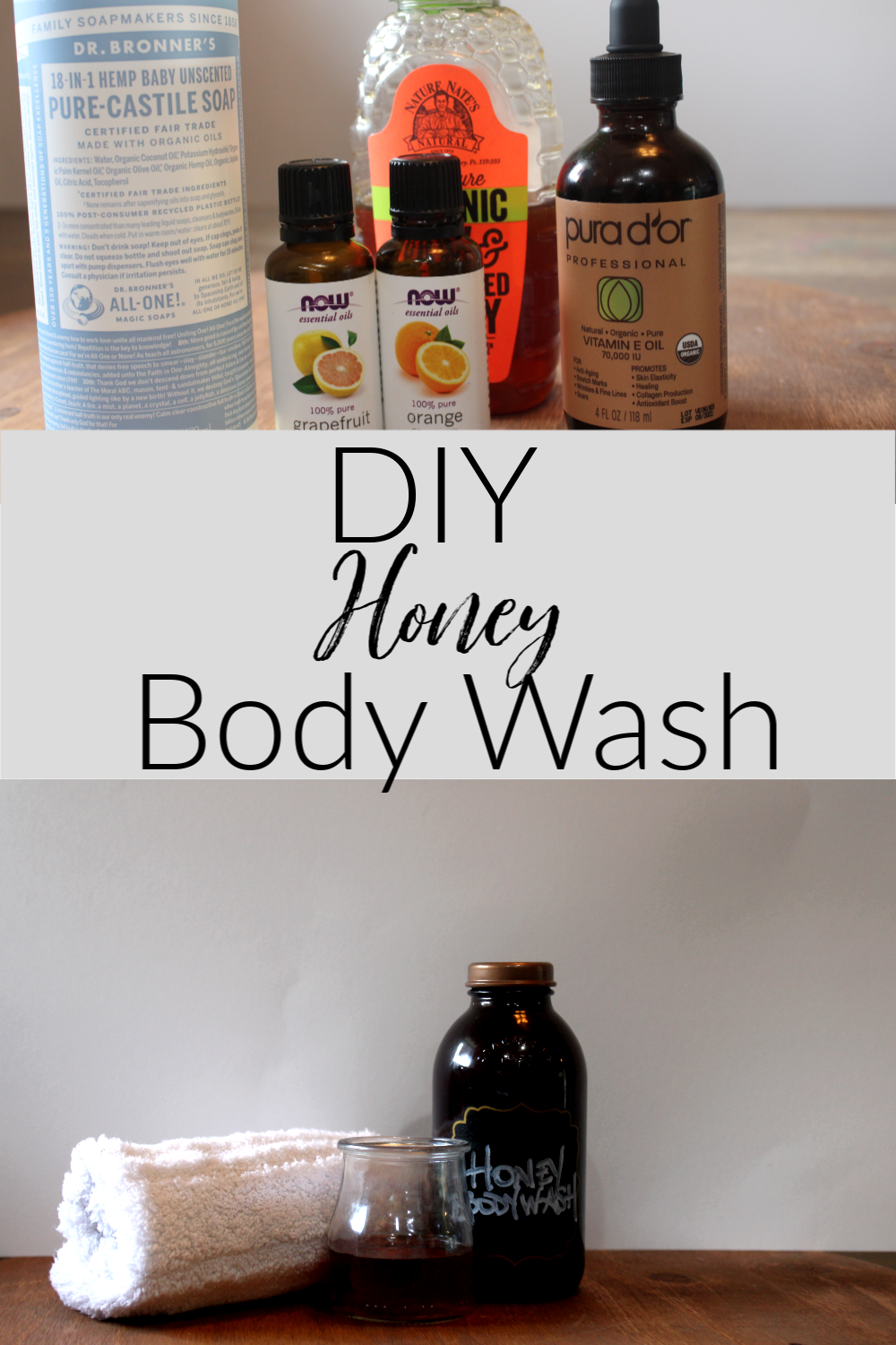 Hey guys, I'm back with another great beauty DIY just in time for mother's day! This DIY Honey Body Wash is luxurious without spending a fortune!