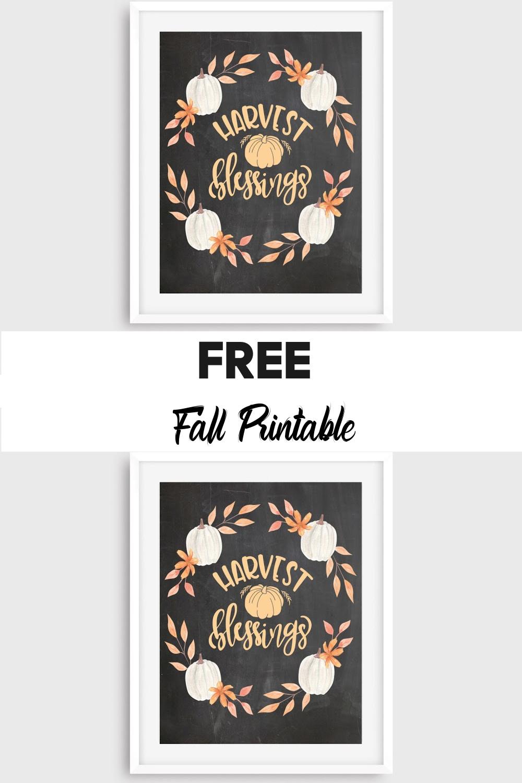 Free Chalkboard Fall Print FrugallyFantastic.com