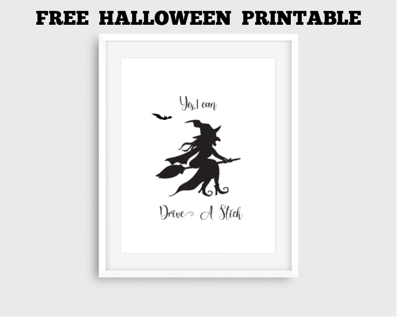 Free Halloween Printable FrugallyFantastic.com