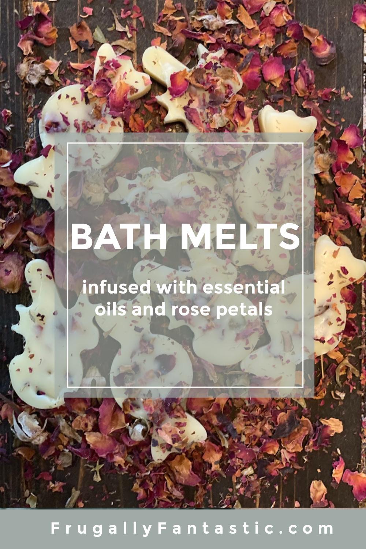 DIY Bath Melts FrugallyFantastic.com