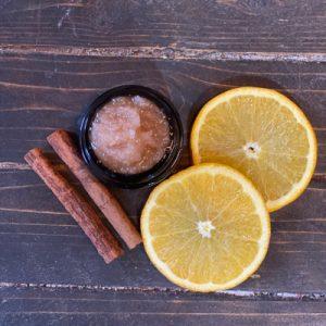 DIY Spiced Orange Lip Scrub FrugallyFantastic.com