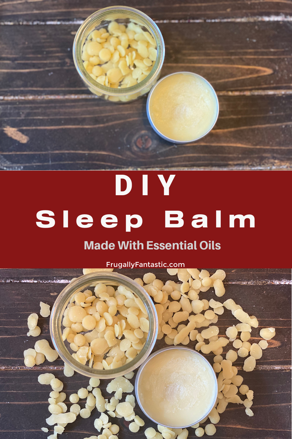 DIY Sleep Balm FrugallyFantastic.com