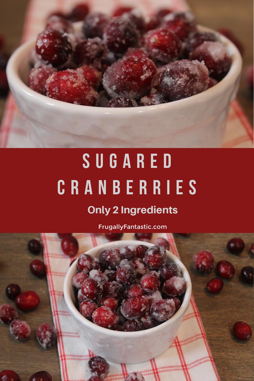 Sugared Cranberries FrugallyFantastic.com