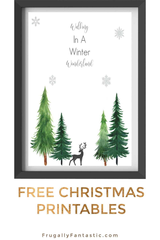 Free Christmas Printable FrugallyFantastic.com