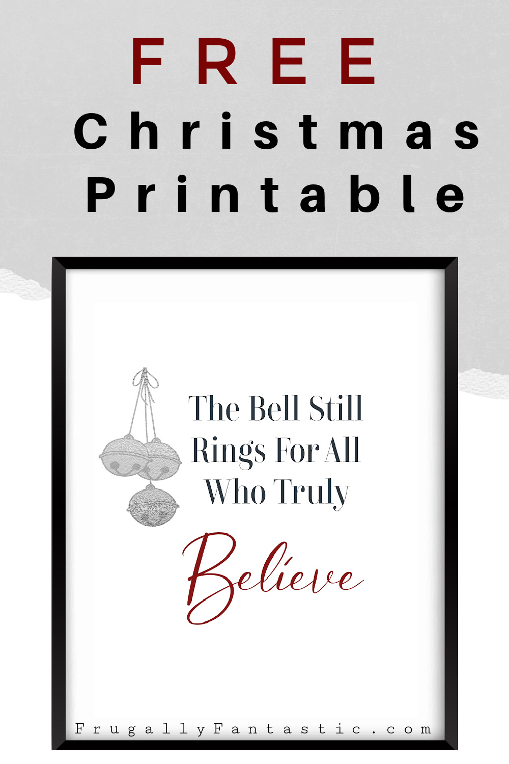 Free Printable For Christmas FrugallyFantastic.com