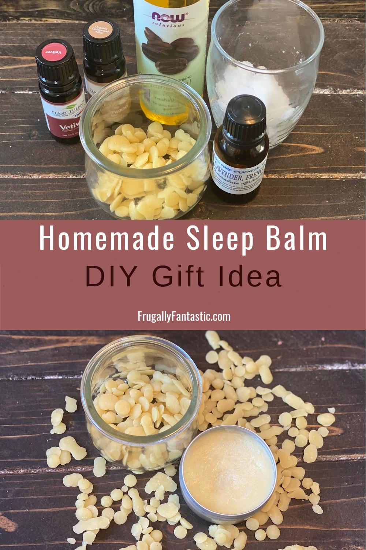 DIY Sleep Balm FrugallyFantastic.com