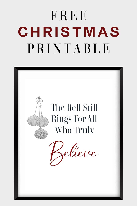 Free Printable For Christmas FrugallyFantastic.com