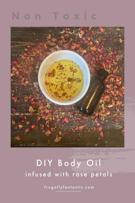 DIY Body Oil FrugallyFantastic.com