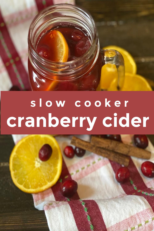 Spiced Cranberry Cider FrugallyFantastic.com